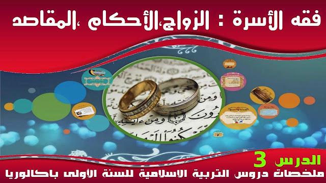 دروس 1 بكالوريا آداب, دروس 1 بكالوريا علوم, دروس التربية الإسلامية أولى باكالوريا,