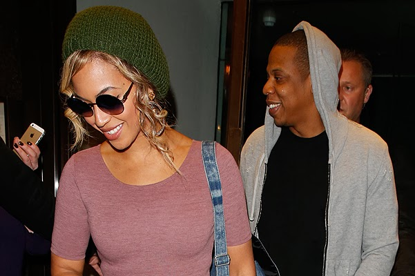 Jay-Z and Beyonce British concert tou