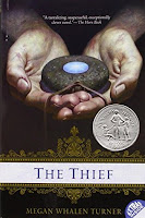 Books: The Thief by Megan Whalen Turner (Age: 8+ years)