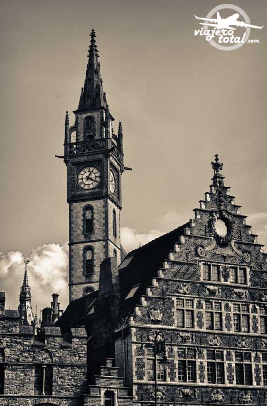 Gante - Ghent - Gent - Bélgica - Belgium - Torre Reroj