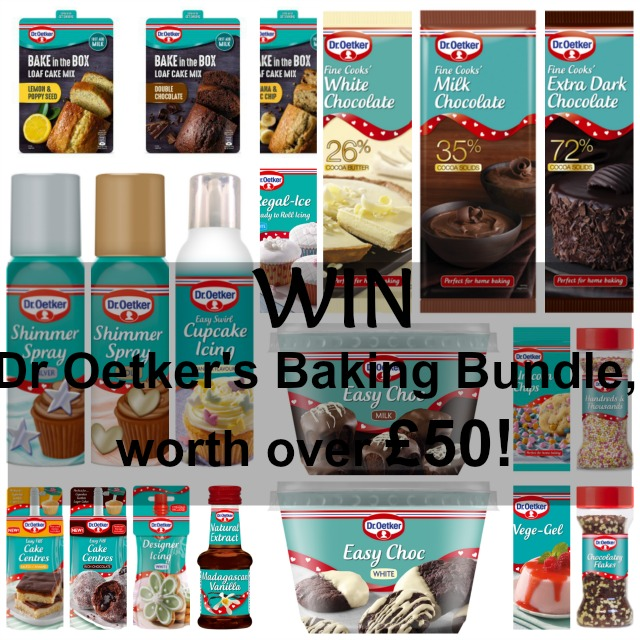 Dr Oetker's Bakers Bundle Giveaway