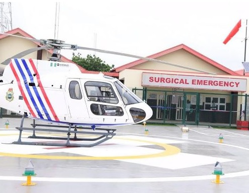 Lagos Makes History Again, Commissions First Medical Helicopter Emergency Service in Nigeria