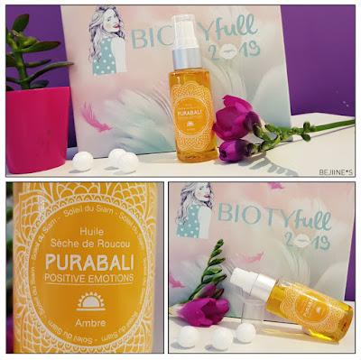 "BIOTYfull Box ""Enveloppante Cocooning"" pura bali huile sèche"