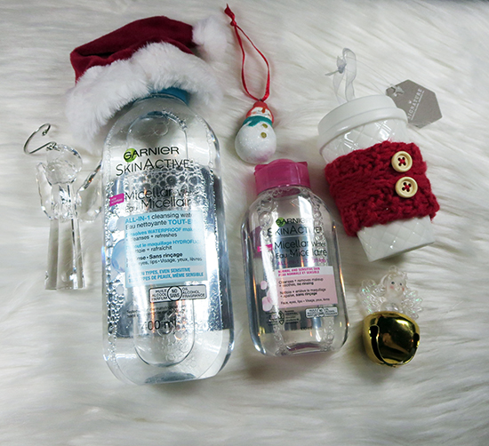 Give the Gift of #GarnierCanada Products Garnier Micellar Water