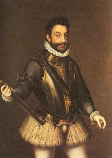Emanuele Filiberto, as portrayed by the Italian painter Giorgio Soleri