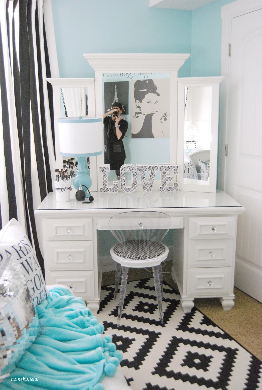 Home By Heidi: Tiffany Inspired Bedroom