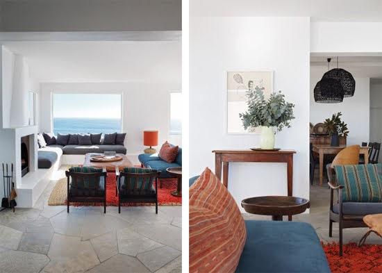 Safari Fusion blog | Summer sea views | Living room sea views at Icaria / Bantry Bay, South Africa