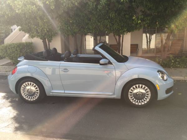 2013 VW Blue Beetle Convertible For Sale