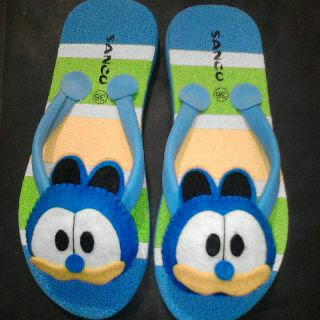 Sandal Lucu Boneka Boncu Garfil biru