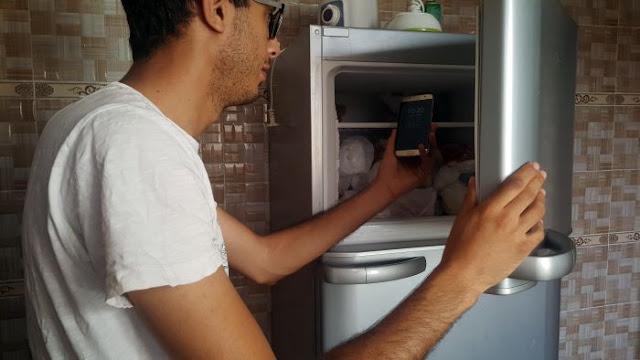 وضعت هاتفي  samsung galaxy S7 لمدة 10 ساعات في فريزر الثلاجة وهذا ما وقع !