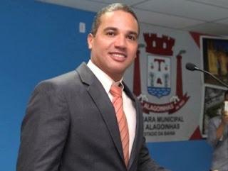 Alagoinhas: Vereador Luciano Almeida anuncia oposição ao governo Joaquim Neto