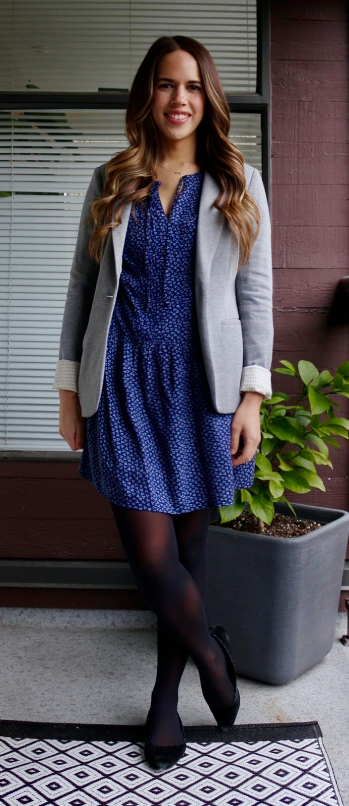 Jules in Flats - Dress with Blazer for Work