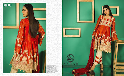 1 Mossii By Nawab Winter Dresses 2018