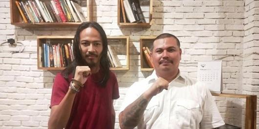 Berkenalan Dengan Dua Caleg Anti Mainstream Asal Palembang, Gondrong dan Bertato