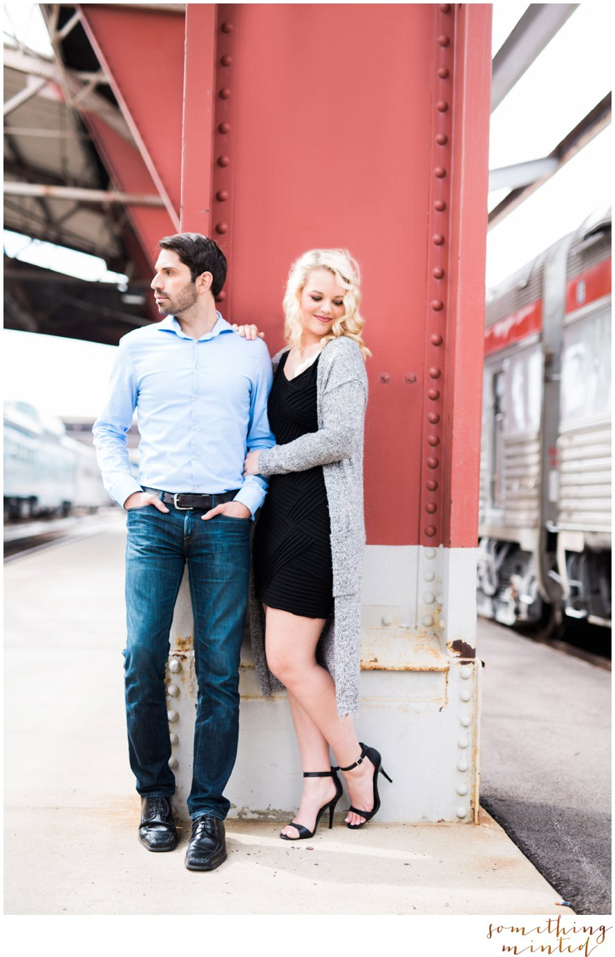 Union Station Engagement Photography, Something MInted