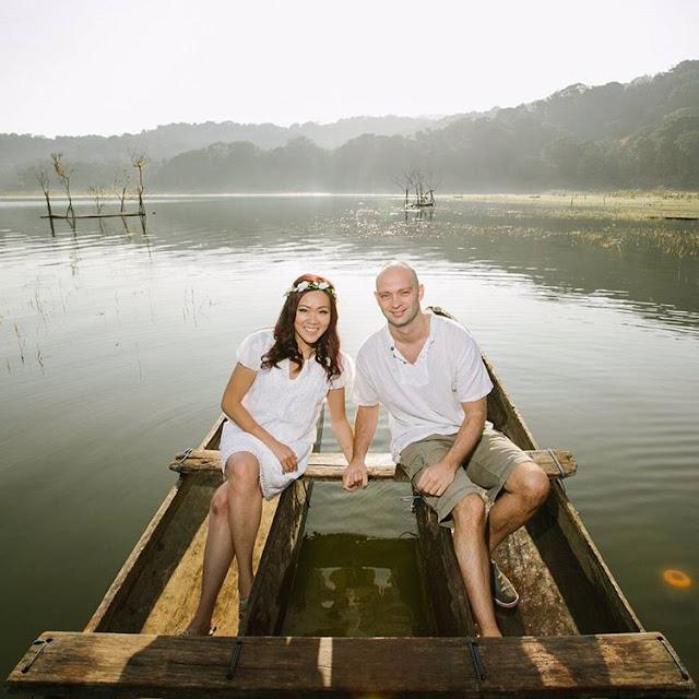 prewedding di danau tamblingan bali