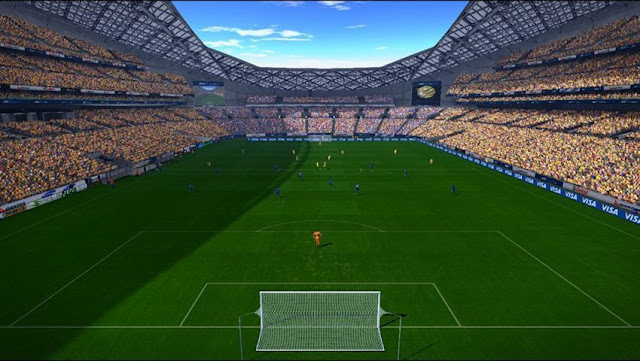 ANZ Stadium (Stadium Australia) PES 2017