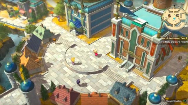 بالصور إستعراض شامل لطور المملكة في لعبة Ni No Kuni 2 و إليكم المزيد من التفاصيل ...