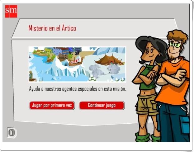 """""""Misterio en el Ártico"""" (Aventuras interactivas de Matemáticas de 5º de Primaria)"""