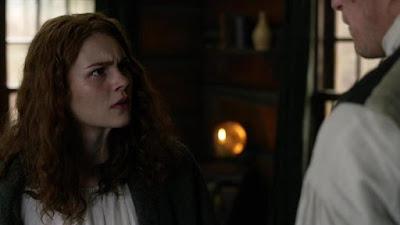 Brianna, enfurecida, pega una bofetada a su padre