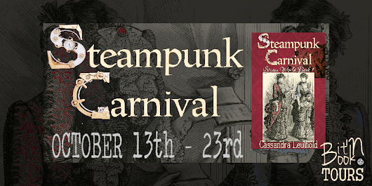#Blog #Tour, #Guest #Post & #Giveaway for Steampunk Carnival by Cassandra Leuthold