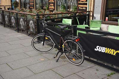 Mer cykelställ i centrala Borås