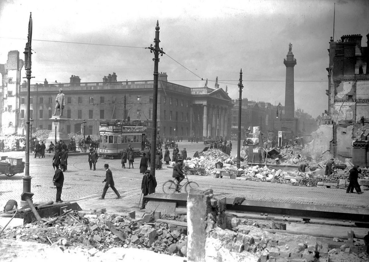Historic Photos of Dublin After the 1916 Easter Rising