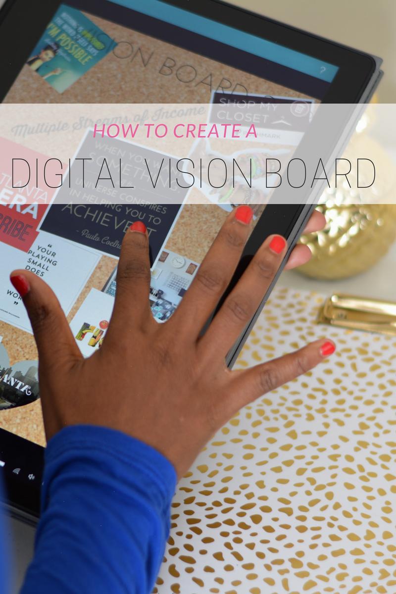 create vision board