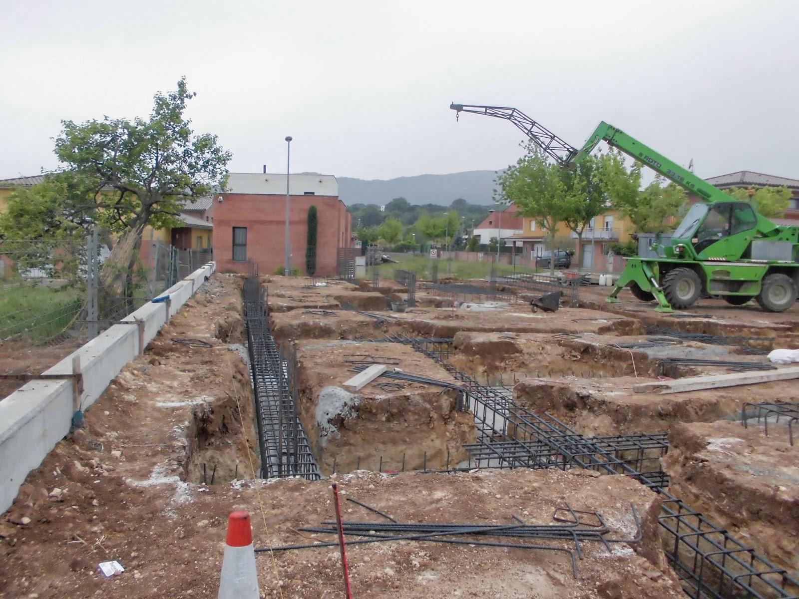 El maestro de obras xavier valderas construccion de cimientos - Construccion de una casa ...
