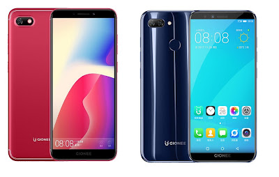 Gionee F205 and Gionee  S11 Lite Launched in India