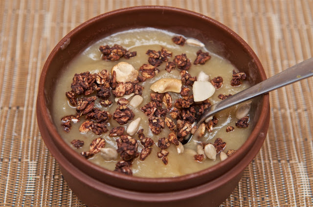 Kellogg's - Muesli - Muesli Granola - Breakfast - Petit-déjeuner - Breakfast cereals - Cacao - Chocolate - Ancient Legends - Épeautre - Avoine - Oat - Avis Ancient Legends Kellogg's review - Compote - Fruit puree