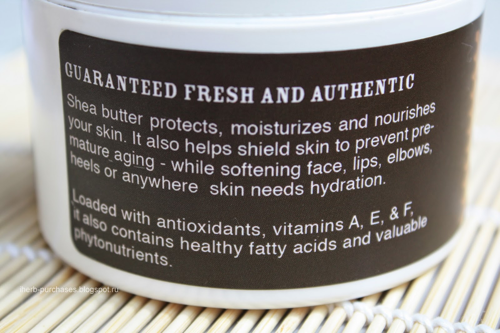 Out of Africa, 100% Pure and Unrefined Shea Butter, Raw and Wild Crafted, 8 oz (227 g)