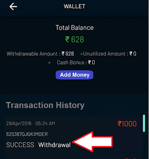 Leaguex payment Proof