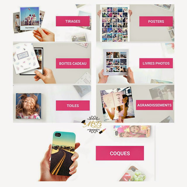 Lalalab Polagram code promo idée cadeau photo