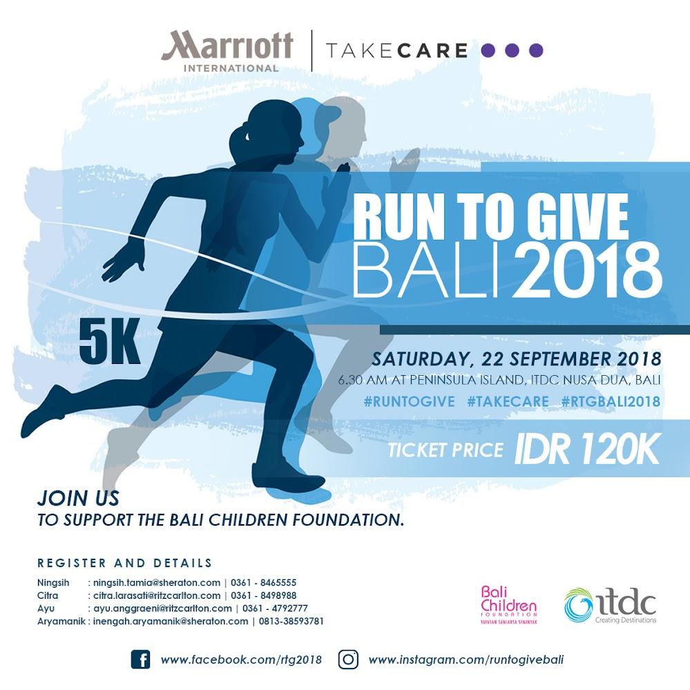 Run to Give - Bali/Lombok • 2018