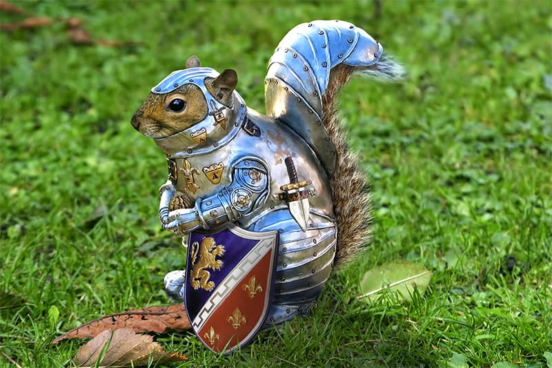 Villanos - Squir, el Halfling Ardilla