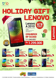 Promo Lenovo Terbaru 2016 di Global Teleshop dan OkeShop
