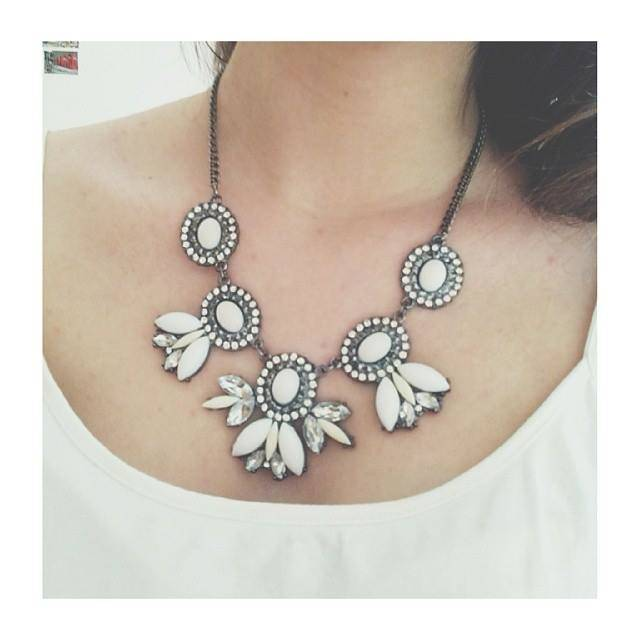 new in | statement necklace
