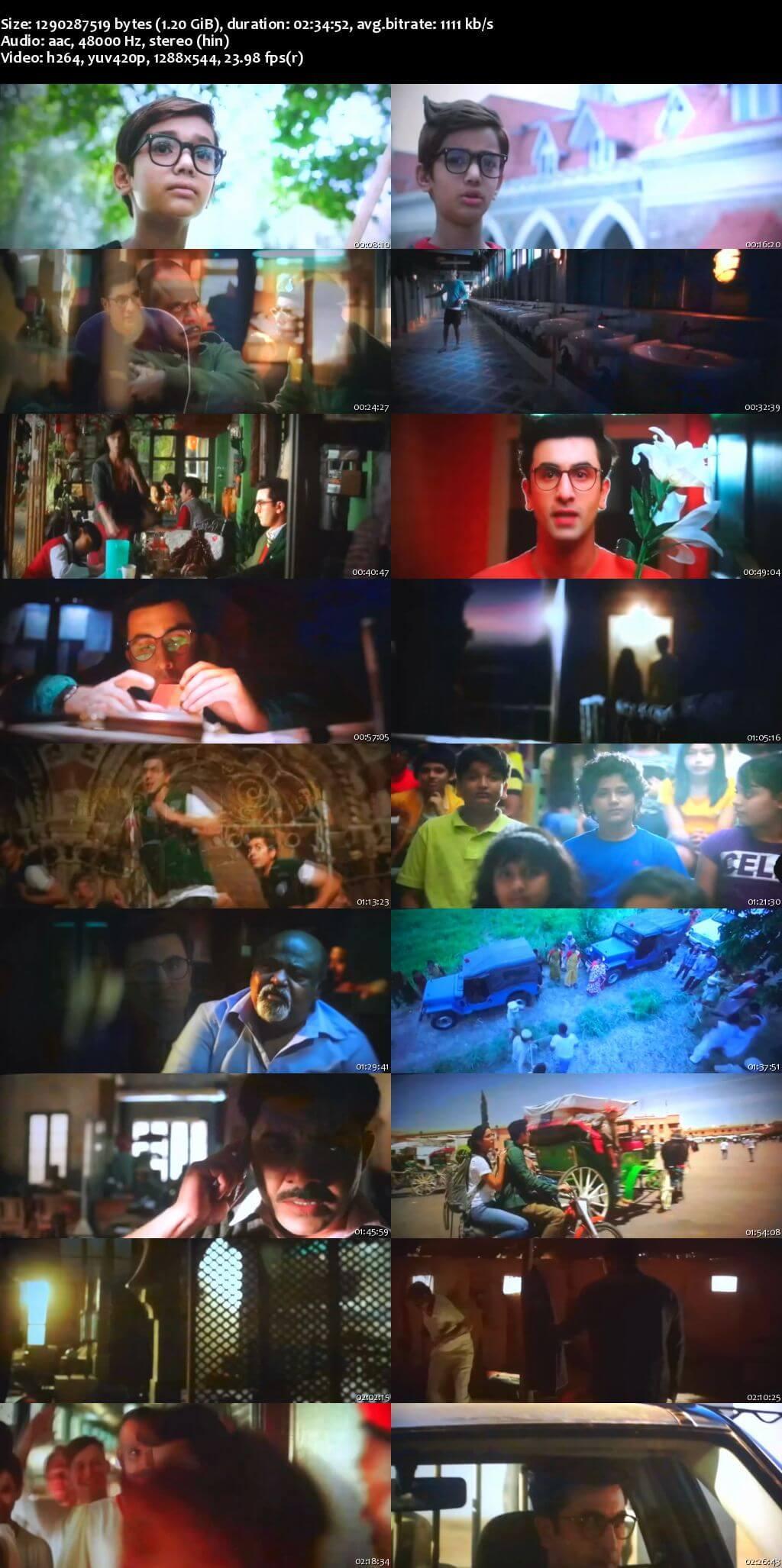 Screen Shot Of Jagga Jasoos 2017 Full Movie Free Download HD 720P Watch Online