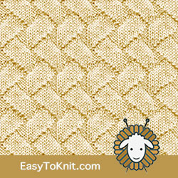 Knit Purl 49: Zig Zag Lines | Easy to knit #knittingstitches #knitpurl