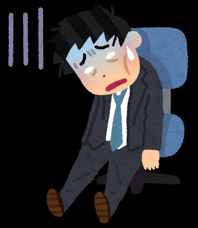 図:脳卒中後の疲労