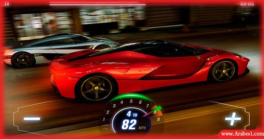 اقوى العاب سباق سيارات اندرويد : CSR Racing 2