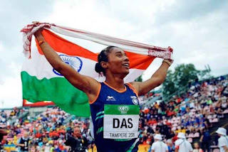 Hima Das appointed as Sports Ambassador of Assam