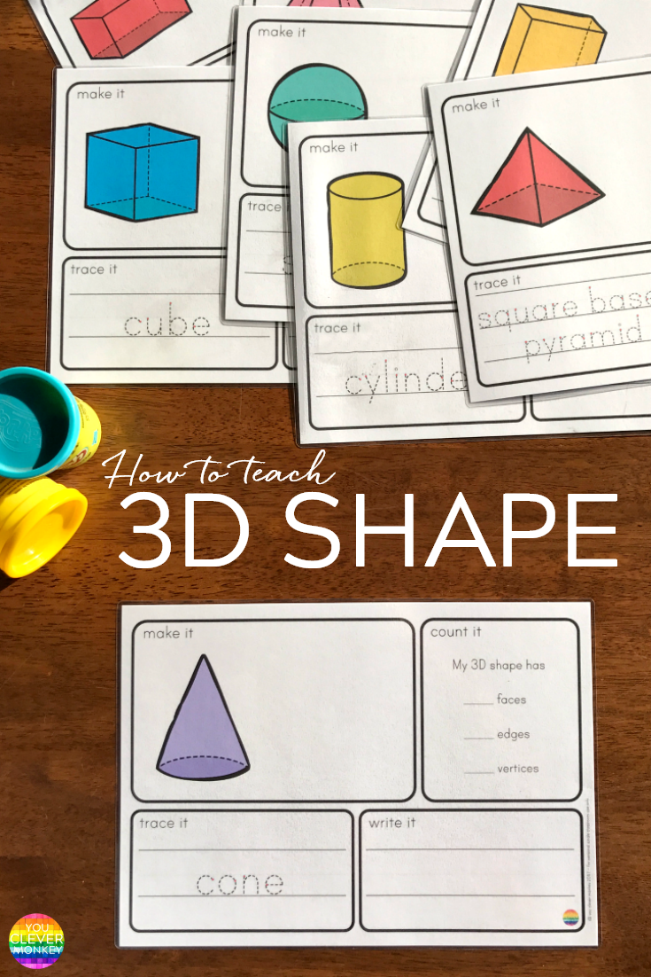 How To Teach 3D Shape in the Early Years | you clever monkey