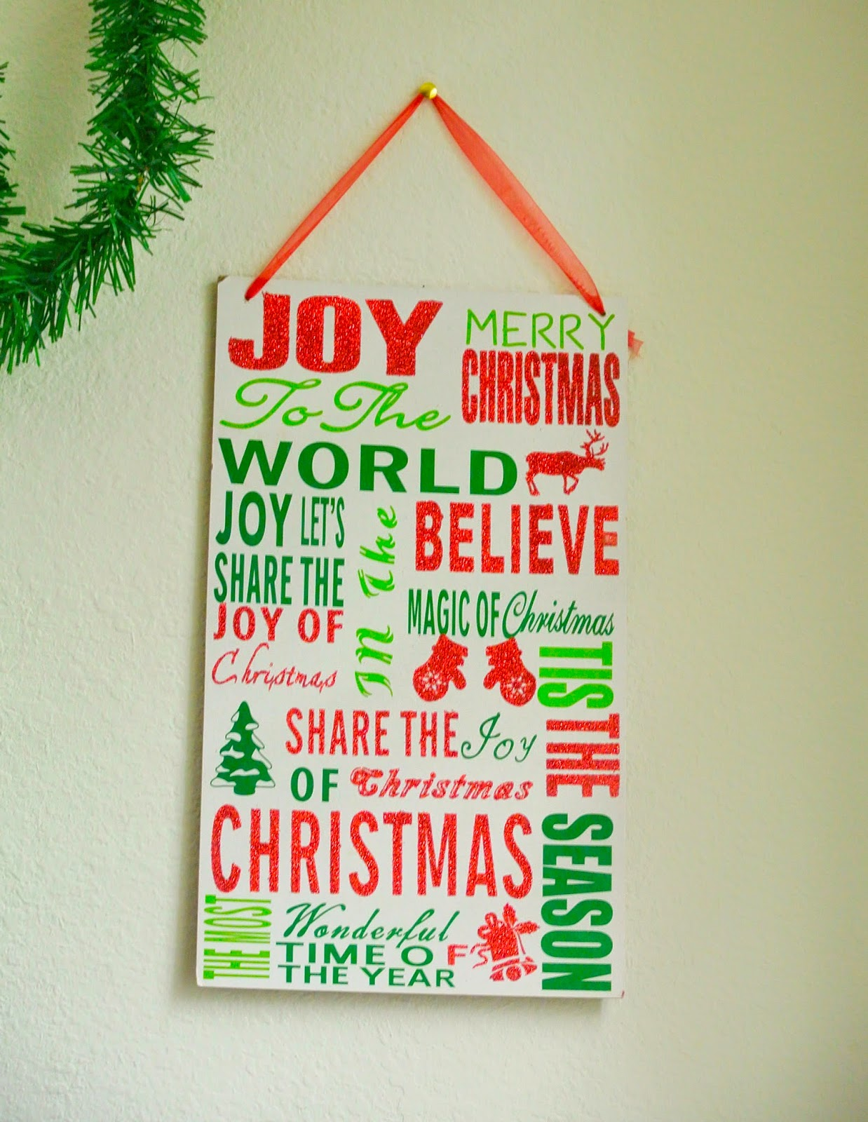 joy to the world, home decor, holidays
