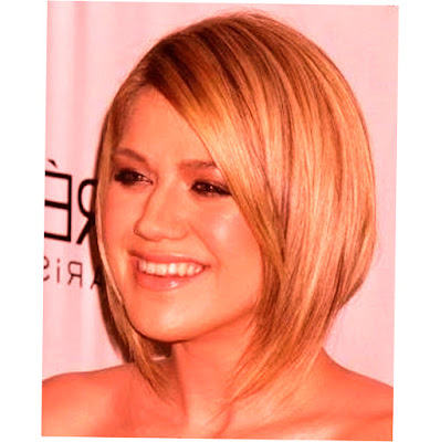 Picture for Medium Length Hairstyles For Round Faces 2015