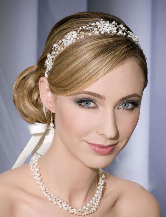 Varios peinados accesorios para peinados Colección de cortes de pelo estilo - Espectaculares peinados con accesorios para Novias 2012 ...