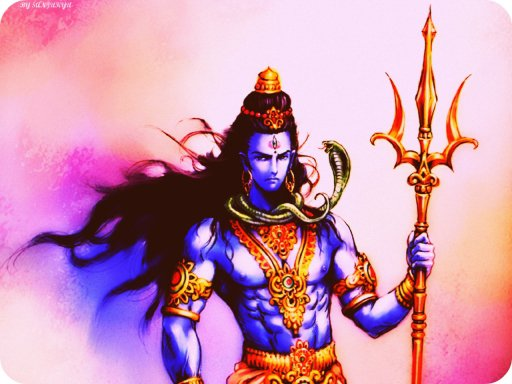 Hindu God Deity Lord Shiva animated image photo found on internet