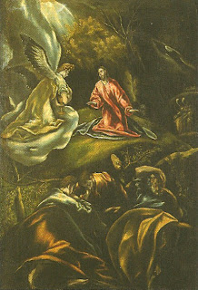 """""""Jesus no Horto dos Olivos"""", El Greco"""