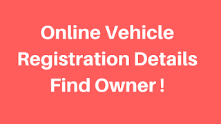 online vehicle registration details